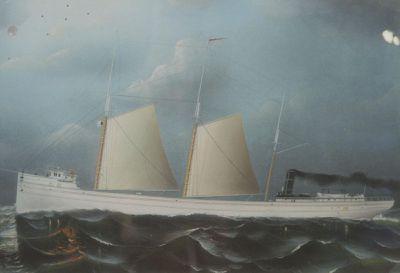 CALUMET (1884, Bulk Freighter)
