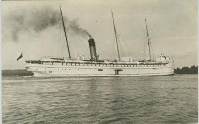 MANITOBA (1889, Passenger Steamer)