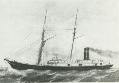 WILLIAM T. GRAVES (1867, Barkentine)