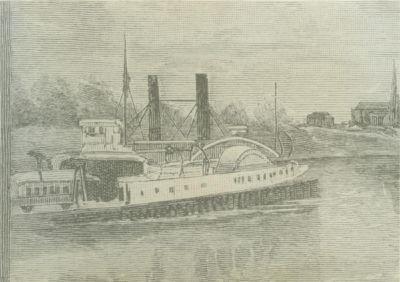 TRANSFER (1888, Car Ferry (Rail Ferry))