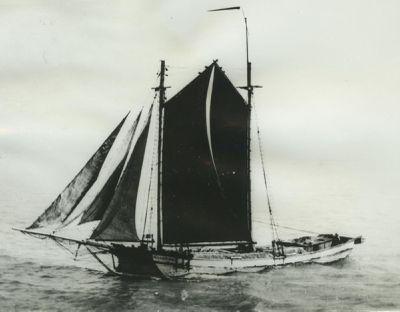 CHAMPION (1872, Scow Schooner)