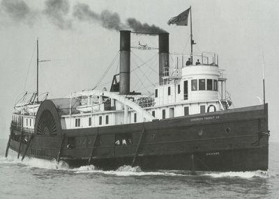 CHICAGO (1874, Steamer)
