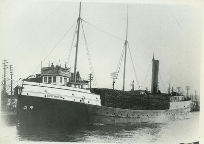 GETTYSBURG (1887, Steambarge)