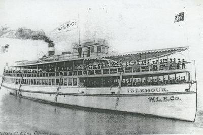 IDLEHOUR (1893, Yacht)