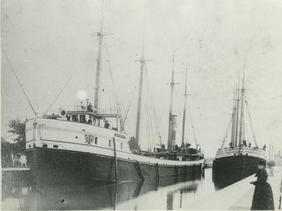 IRON DUKE (1881, Bulk Freighter)