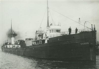 SAXON (1891, Bulk Freighter)