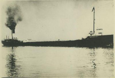 SUPERIOR CITY (1898, Bulk Freighter)