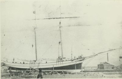 SAVIDGE, HUNTER (1879, Schooner)