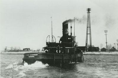 WAUBAUSHENE (1882, Tug (Towboat))