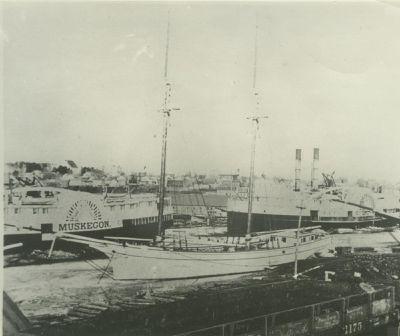BARNES, BURT (1882, Schooner)