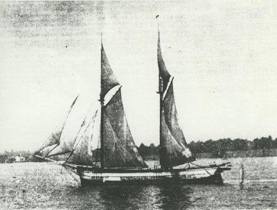 MICHELSON, CHRISTINE (1867, Schooner)