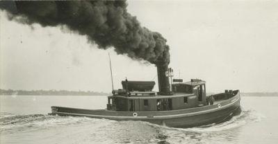 AMERICA (1897, Tug (Towboat))