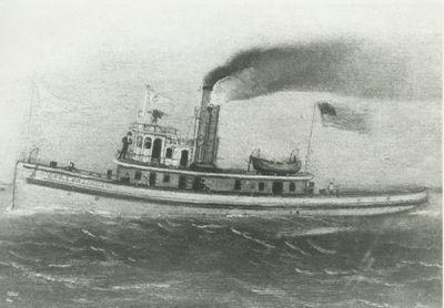 BROCKWAY, GEORGE E. (1867, Tug (Towboat))