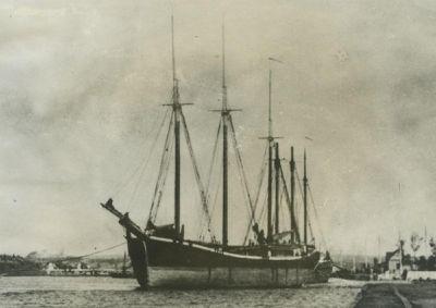 BRUCE, BENJAMIN F. (1873, Schooner)