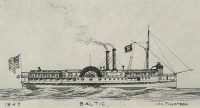 BALTIC (1847, Passenger Steamer)