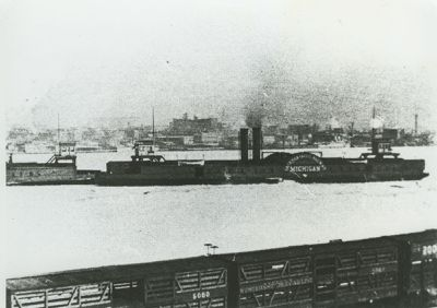 MICHIGAN (1890, Car Ferry (Rail Ferry))