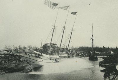 ARENAC (1888, Schooner-barge)