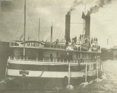 CITY OF MACKINAC (1883, Steamer)