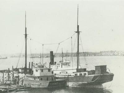 BUTMAN, MYRON (1885, Schooner)