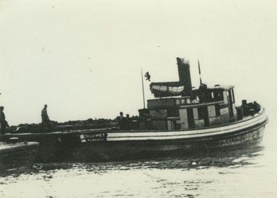 CALUMET (1892, Tug (Towboat))