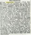 ALEXANDER (1857, Schooner)
