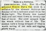 ALMINA (1862, Schooner)