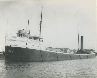 AMAZONAS (1898, Bulk Freighter)
