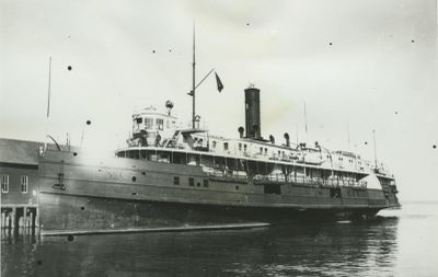 CITY OF MACKINAC (1893, Steamer)