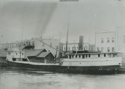 BUCKLEY,  EDWARD (1891, Steambarge)