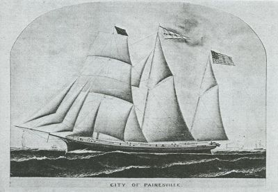 CITY OF PAINSVILLE (1867, Barkentine)