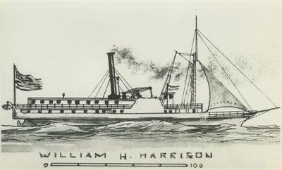 HARRISON, WILLIAM H. (1840, Steamer)