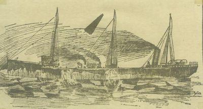 BROWN,  HARVEY H. (1894, Bulk Freighter)