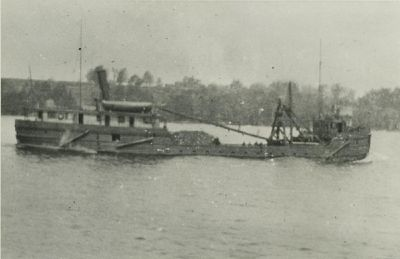KENDALL, HARVEY J. (1892, Steambarge)