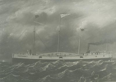 NORTHERNER (1876, Barge)