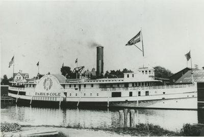 COLE, DARIUS (1885, Steamer)