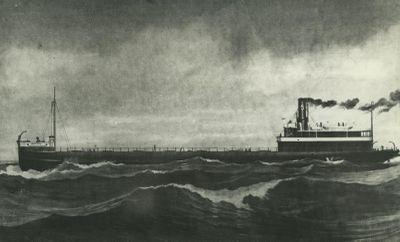 CHOCTAW (1892, Bulk Freighter)