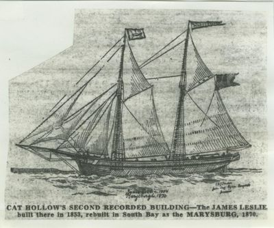 LESLIE, JAMES (1854, Schooner)