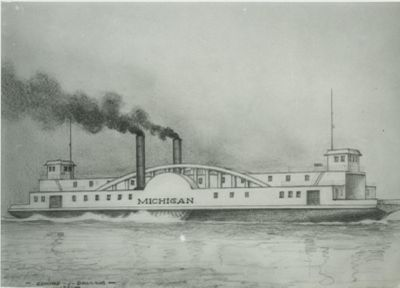 MICHIGAN (1873, Car Ferry (Rail Ferry))