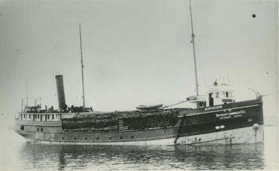 NIPIGON (1883, Steambarge)