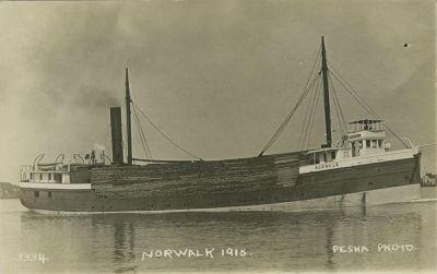 NORWALK (1891, Steambarge)