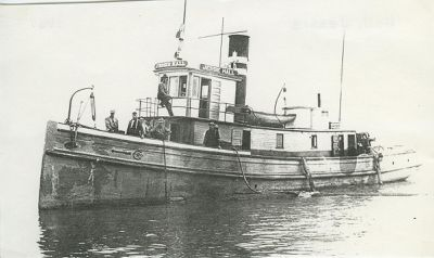 HALL, JESSIE (1867, Tug (Towboat))