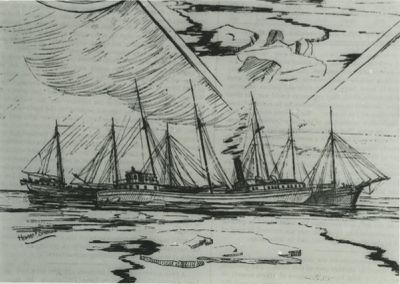 MINNEAPOLIS (1873, Package Freighter)