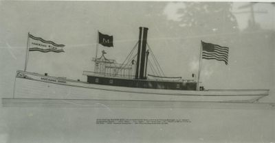 MOCKING BIRD (1873, Tug (Towboat))