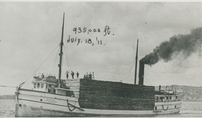 DURR, MAY (1888, Steambarge)