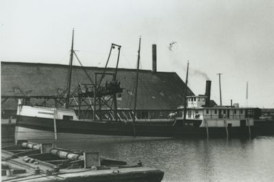 JUNO (1885, Steambarge)