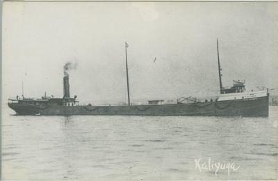 KALIYUGA (1887, Bulk Freighter)