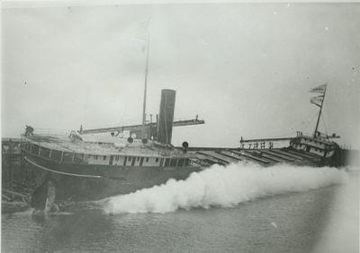 LAGONDA (1896, Bulk Freighter)