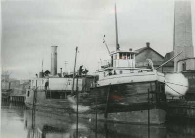 LAKE MICHIGAN (1872, Package Freighter)