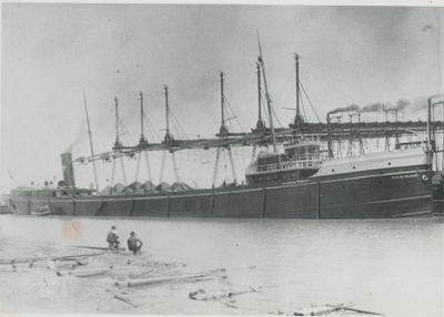 NORMAN (1890, Bulk Freighter)