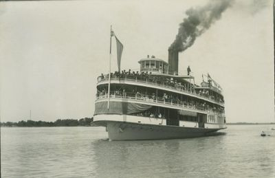 COLUMBIA (1902, Excursion Vessel)